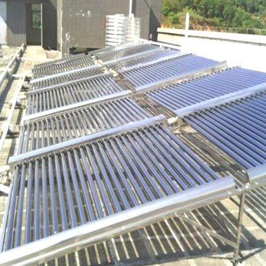 灿安消防设备公司太阳能热水系统