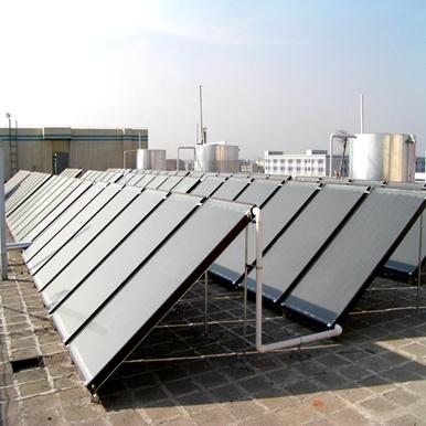 华工科技园平板太阳能热水工程