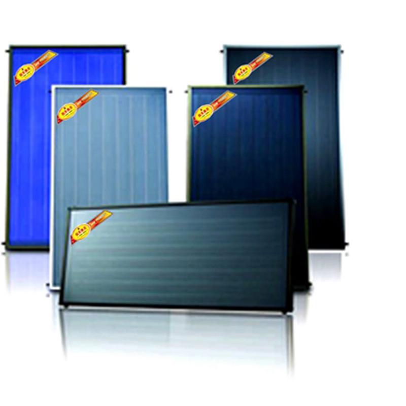 蓝膜平板太阳能集热器