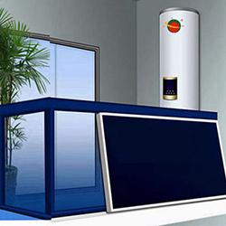 壁挂太阳能热水工程