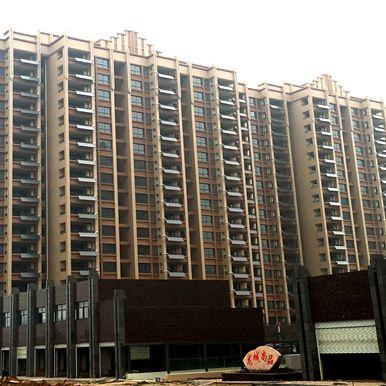 龙城尚品阳台壁挂太阳能工程