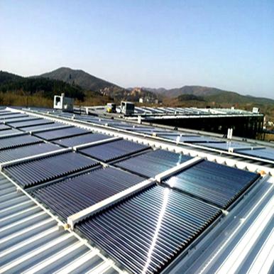 体育馆太阳能热水系统