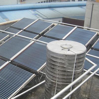 联箱太阳能热水系统