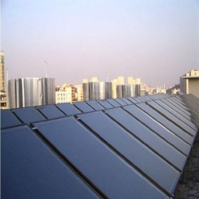 仙桃排湖职工宿舍平板太阳能工程